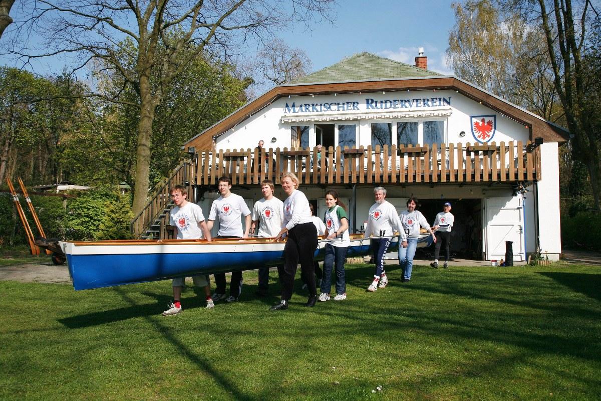 Das Bootshaus des Märkischen Rudervereins