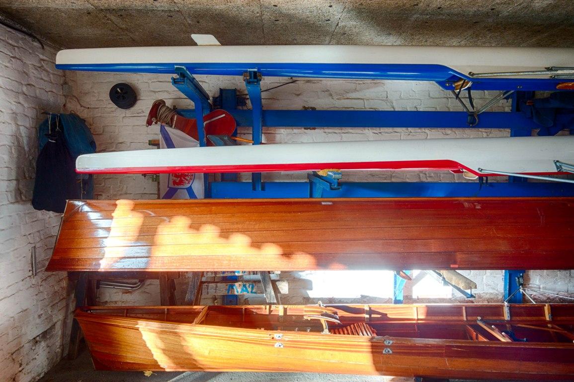 Bootshalle des Märkischen Rudervereins