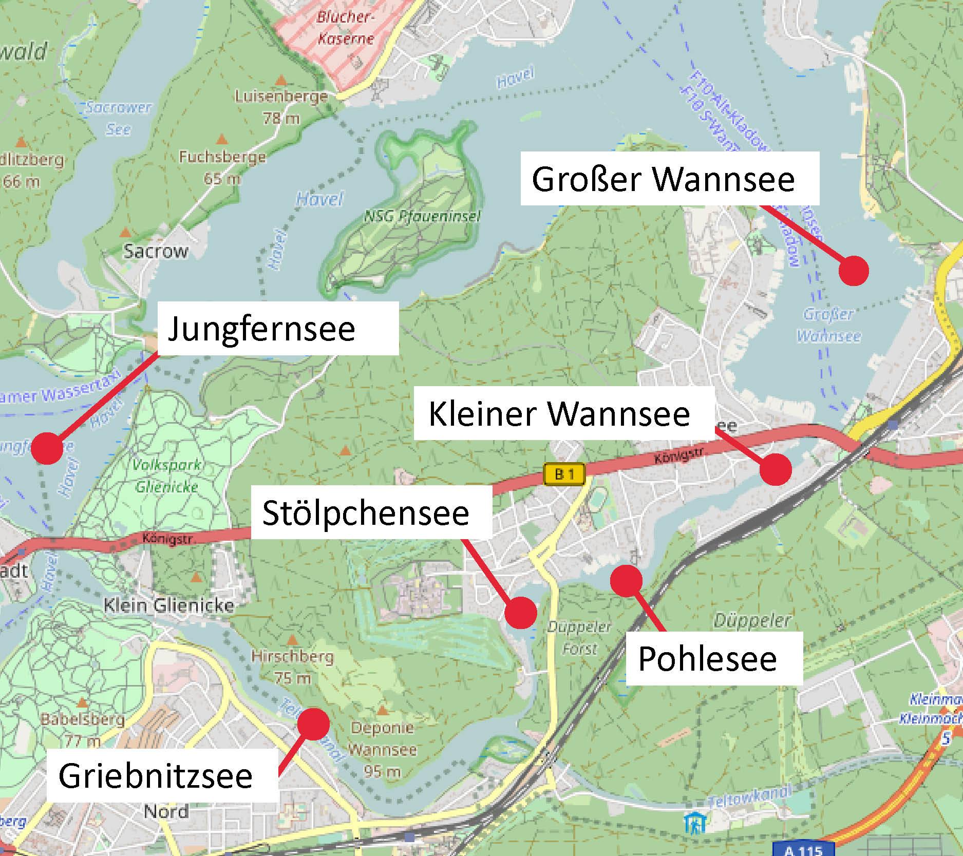 Großer- und Kleiner Wannsee