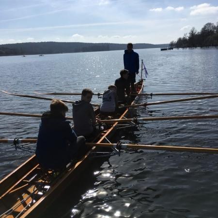 Ruderboot auf der Havel