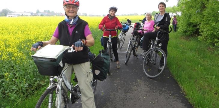 Frauenradtour in den Fläming