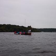 Kirchboot auf der Havel