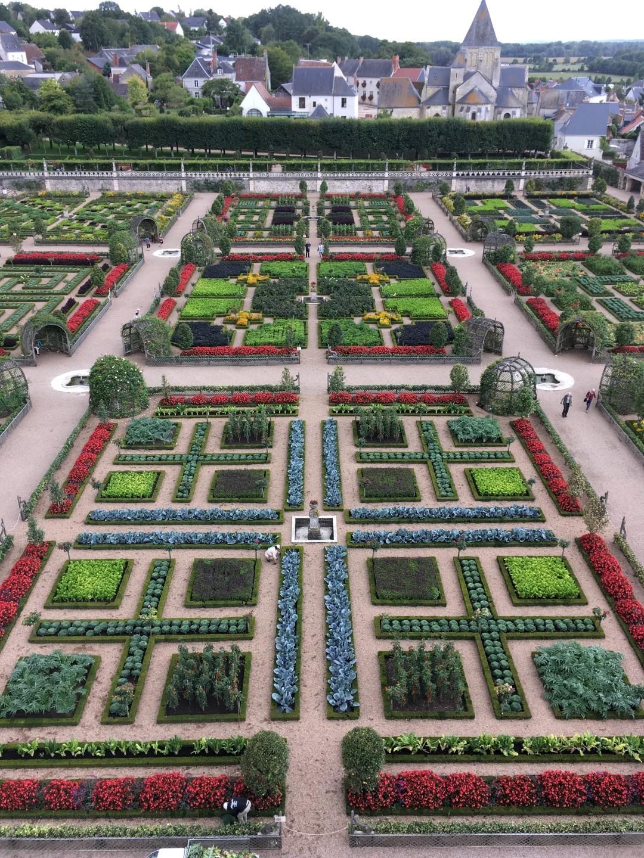 Garten des Schlosses von Villandry