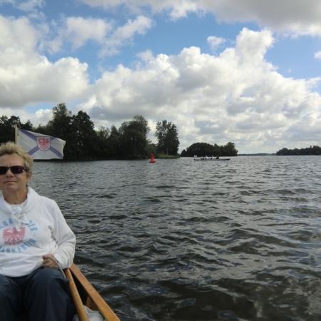 Ruderboot auf dem Wasser