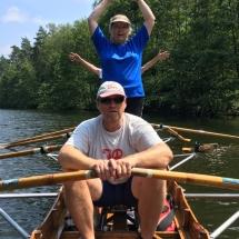 Sport im Ruderboot
