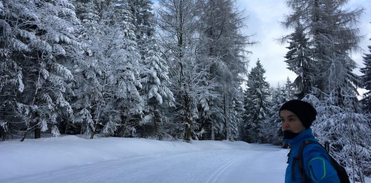 Skilanglauf der kurzen Wege