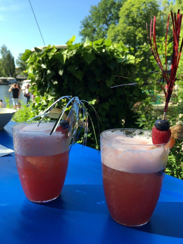 Der Renner, die alkoholfreien Cocktails an der Jugend-Bar