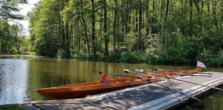 Jugend-Wanderfahrt zur RVP Saffonia: 86 km in drei Tagen