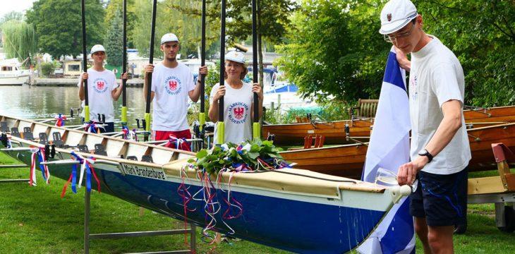 """Allzeit 'Gute Fahrt' und immer mindestens eine Handbreit Wasser unter dem Kiel: Die Taufe der """"Mark Brandenburg"""" am 15. August"""