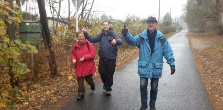 Perspektivwechsel – Herbstwanderung auf Schmöckwitz