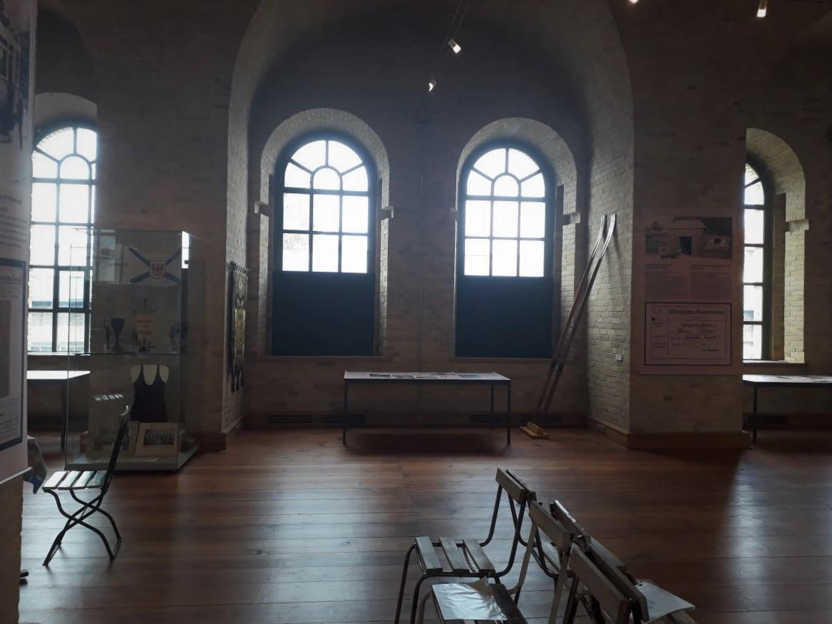 Der Ausstellungsraum auf der Zitadelle Spandau