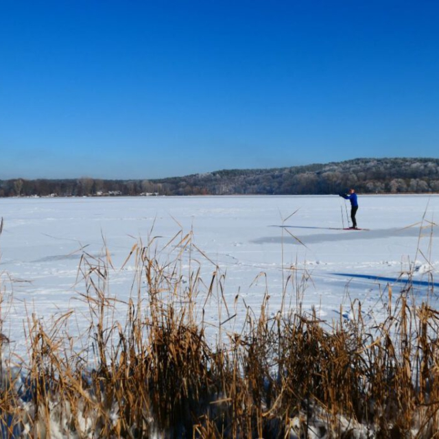 Skifahren auf der Havel