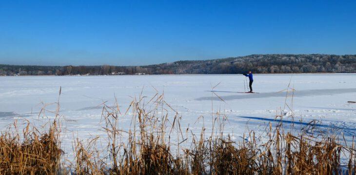 Winterpause – Eis auf der Havel und faszinierende Perspektiven