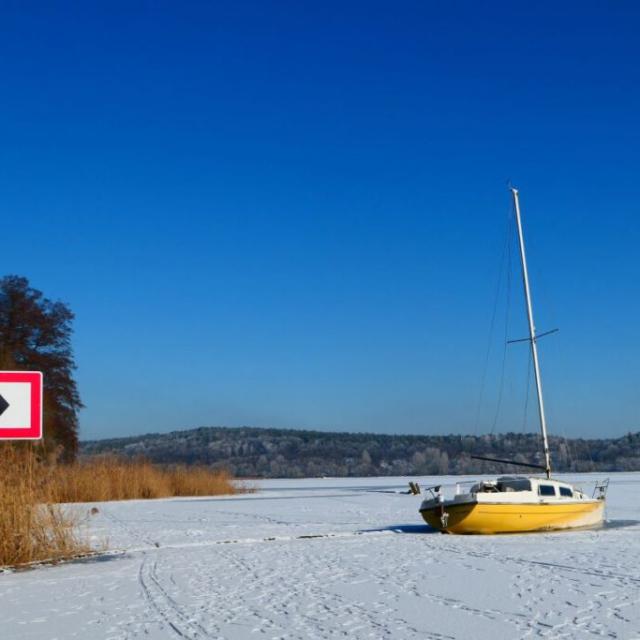 Das verlassene Schiff hinter Breitehorn